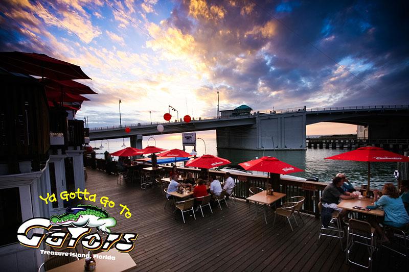 Gators Cafe Saloon Johns Pass Treasure Island Fl